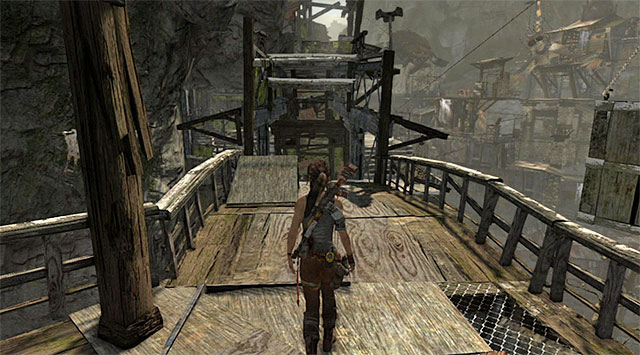 Head north - Find Your Way to Grim | 15: Liberator Walkthrough - 15: Liberator | Walkthrough - Tomb Raider Game Guide