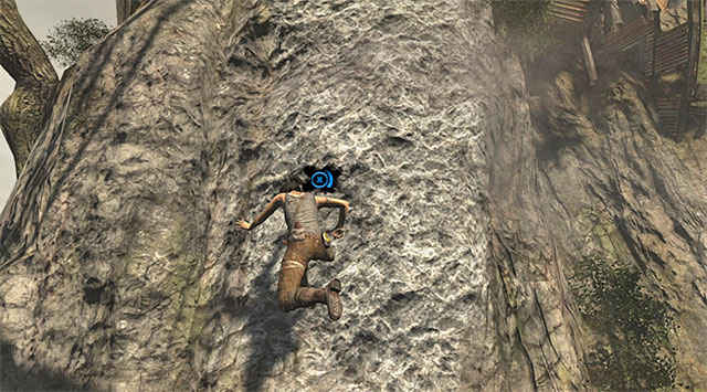 Dont stop climbing towards the eastern ledge even though some new enemies show up - Find a Way into the Solarii Stronghold | 16: No One Left Behind Walkthrough - 16: No One Left Behind | Walkthrough - Tomb Raider Game Guide