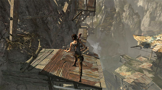 Dont except the situation to calm down; on the contrary, Lara will find herself under heavy enemy fire - Find a Way into the Solarii Stronghold | 16: No One Left Behind Walkthrough - 16: No One Left Behind | Walkthrough - Tomb Raider Game Guide