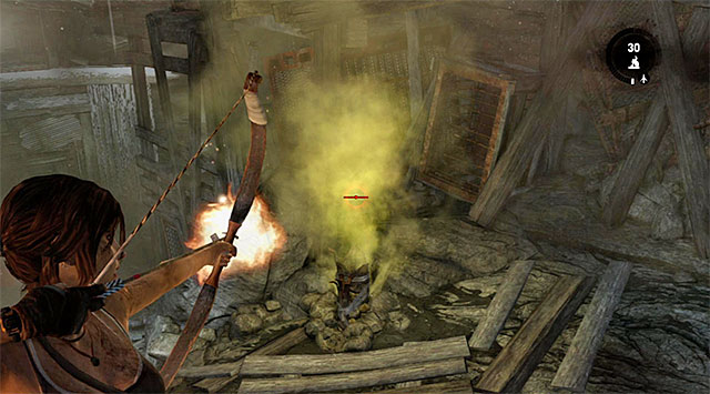 Locate and use another interactive valve - Rescue the Captured Endurance Crew | 16: No One Left Behind Walkthrough - 16: No One Left Behind | Walkthrough - Tomb Raider Game Guide