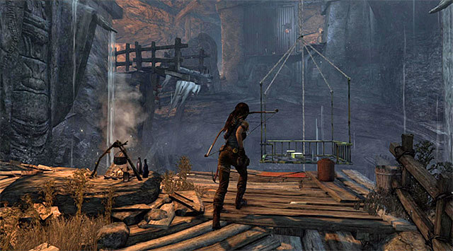 This is when the hard part begins - Well of Tears | Optional Tombs: Shantytown - Shantytown | Optional Tombs - Tomb Raider Game Guide
