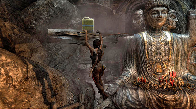 The puzzle involves taking several steps - Chamber of Judgment | Optional Tombs: Shantytown - Shantytown | Optional Tombs - Tomb Raider Game Guide