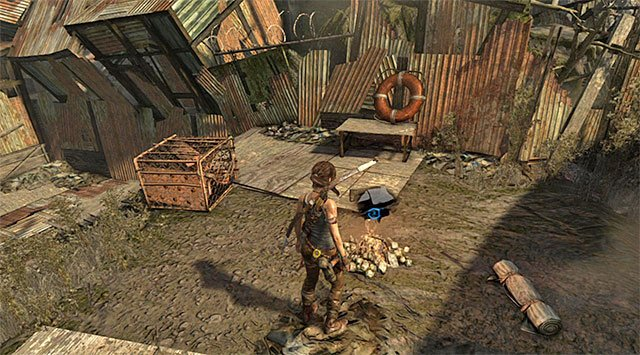 CAMPSITE 1/6 - HELICOPTER HILL - Campsites | Collectibles: Shantytown - Collectibles: Shantytown - Tomb Raider Game Guide