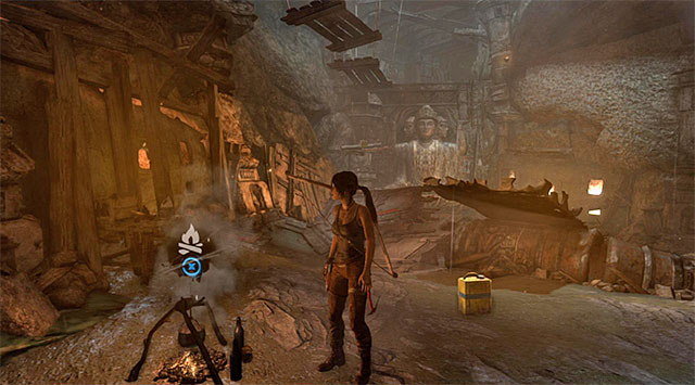 CAMPSITE 5/6 - CHAMBER OF JUDGMENT - Campsites | Collectibles: Shantytown - Collectibles: Shantytown - Tomb Raider Game Guide
