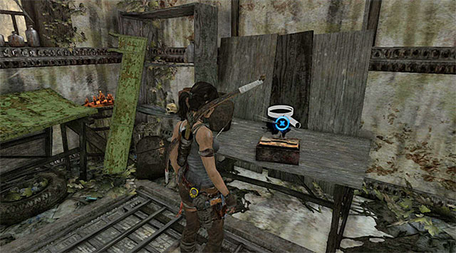 Examine the building on the inside - Relics | Collectibles: Shantytown - Collectibles: Shantytown - Tomb Raider Game Guide