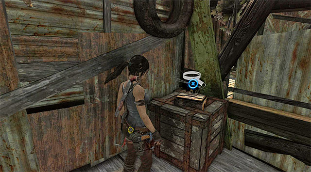 Enter a small room and grab the Jade Horse from the box - Relics | Collectibles: Shantytown - Collectibles: Shantytown - Tomb Raider Game Guide