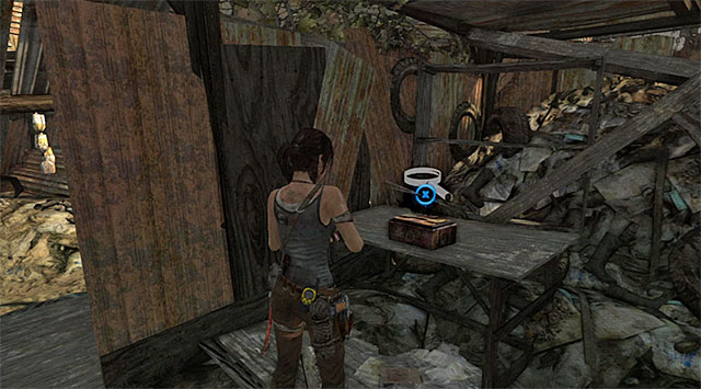 The Inro box is lying on the table - Relics | Collectibles: Shantytown - Collectibles: Shantytown - Tomb Raider Game Guide