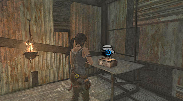 Youll find the Inro box on the table (reward: 500 XP) - Relics | Collectibles: Shantytown - Collectibles: Shantytown - Tomb Raider Game Guide