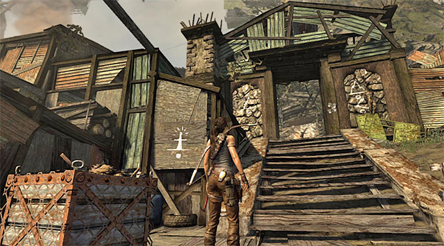 GPS CACHE 2/15 - GPS Caches (01-07) | Collectibles: Shantytown - Collectibles: Shantytown - Tomb Raider Game Guide