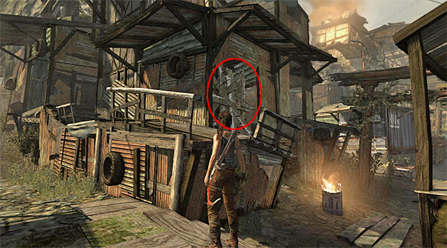 GPS CACHE 5/15 - GPS Caches (01-07) | Collectibles: Shantytown - Collectibles: Shantytown - Tomb Raider Game Guide