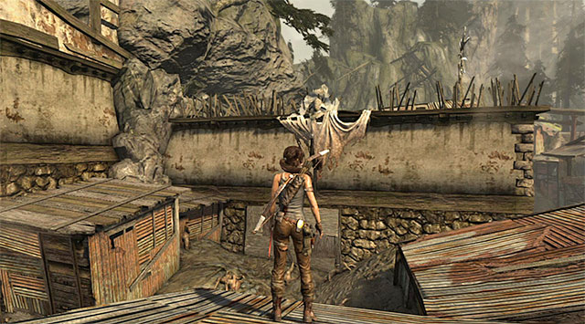 EFFIGY 2/5 - Laid to Rest | Collectibles: Shantytown - Collectibles: Shantytown - Tomb Raider Game Guide