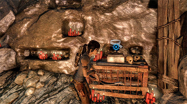 RELIC 2/3 - CEREMONIAL FANS - WEDDING FAN - Relics | Collectibles: Geothermal Caverns - Collectibles: Geothermal Caverns - Tomb Raider Game Guide