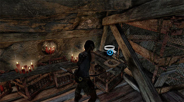 Make your way up until your reach a small wooden gallery - Treasure Maps | Collectibles: Geothermal Caverns - Collectibles: Geothermal Caverns - Tomb Raider Game Guide