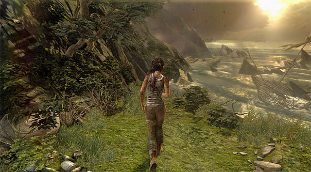 The final part of the objective is very simple and takes place in Coastal Bluffs - Find a Way Out | 2: Force of Will Walkthrough - 2: Force of Will | Walkthrough - Tomb Raider Game Guide