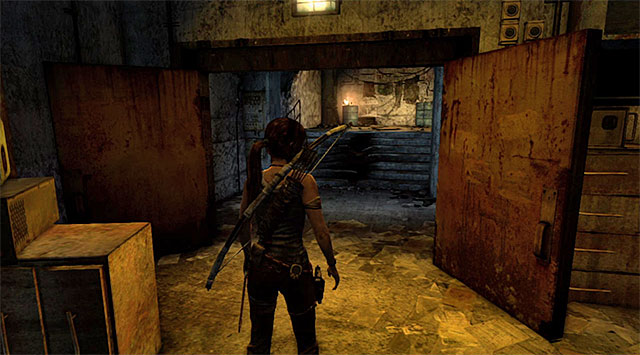 Its a good idea to check the whole place out, especially since there is a new base camp upstairs (Map Room) - Find the Communication Console | 8: Cry for Help Walkthrough - 8: Cry for Help | Walkthrough - Tomb Raider Game Guide