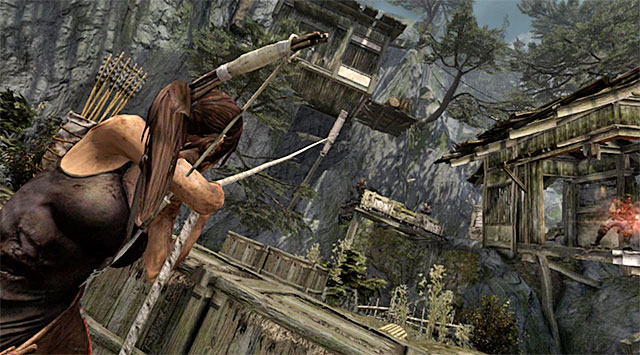 The shootout wont end with them gone, though; there are other enemies in the area - Regroup with Roth | 9: A Road Less Traveled Walkthrough - 9: A Road Less Traveled | Walkthrough - Tomb Raider Game Guide