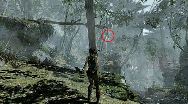 TOTEM 4/10 - Ghost Hunter | Collectibles: Coastal Forest - Collectibles: Coastal Forest - Tomb Raider Game Guide