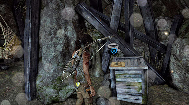 Once youre in the cave, go right - Treasure Maps | Collectibles: Mountain Temple - Collectibles: Mountain Temple - Tomb Raider Game Guide