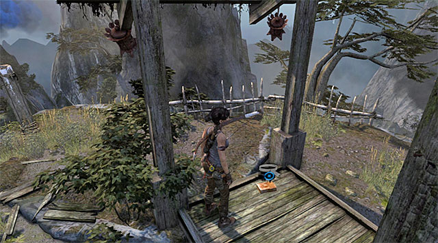 Search the top shelf - Documents | Collectibles: Mountain Village - Collectibles: Mountain Village - Tomb Raider Game Guide