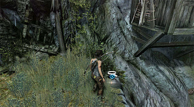 Head north and stop at the edge - GPS Caches (01-07) | Collectibles: Mountain Village - Collectibles: Mountain Village - Tomb Raider Game Guide