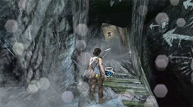 Search the area near the entrance to the Tomb of the Unworthy - GPS Caches (01-07) | Collectibles: Mountain Village - Collectibles: Mountain Village - Tomb Raider Game Guide