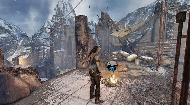 CAMPSITE 2/2 - RADIO TOWER - Campsites | Collectibles: Base Exterior - Collectibles: Base Exterior - Tomb Raider Game Guide