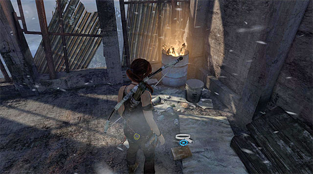 Examine the first floor - the Document lies on the ground (reward: 25 XP) - Documents | Collectibles: Base Exterior - Collectibles: Base Exterior - Tomb Raider Game Guide