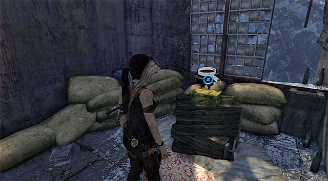 Go inside - Relics | Collectibles: Base Exterior - Collectibles: Base Exterior - Tomb Raider Game Guide