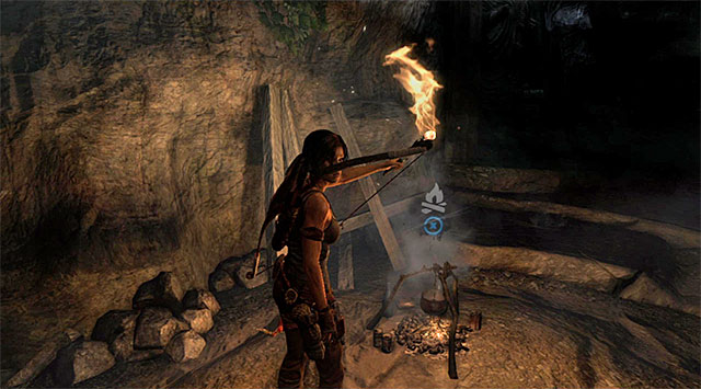 CAMPSITE 1/1 - ARID CANYON - Campsites | Collectibles: Mountain Pass - Collectibles: Mountain Pass - Tomb Raider Game Guide