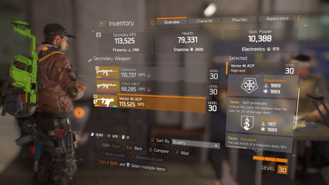 Weapon talents | Equipment - Tom Clancy's The Division Game Guide