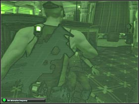 The main objective here is to leave the casino area - Mission 7.1 [Cozumel - Cruise Ship] - Walkthrough - Tom Clancys Splinter Cell: Double Agent - Game Guide and Walkthrough