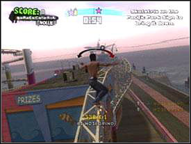 Approach a guy with binoculars, he's on the pier - Santa Monica #1 - Tony Hawks American Wasteland - Game Guide and Walkthrough