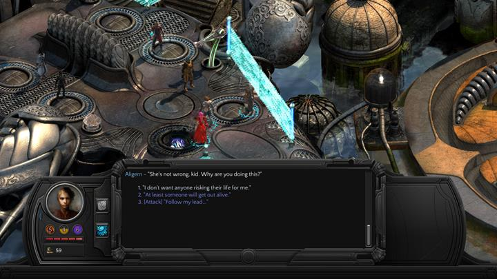Be humble while talking-tell the truth and surrender willingly - Fallen To Earth - main quest walkthrough | Reef of the Fallen World - Sagus Cliffs: Reef of the Fallen World - Torment: Tides of Numenera Game Guide