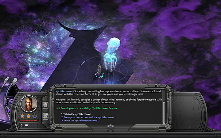 Visit The Calm to talk to Nychtemeron - youll receive access to a new ability - Beleazar and the Beast - side quest walkthrough | Circus Minor - Sagus Cliffs: Circus Minor - Torment: Tides of Numenera Game Guide