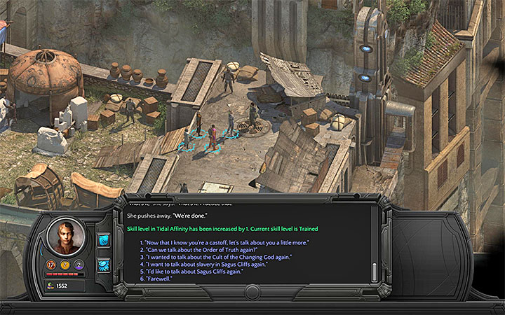 Beloved Slave - Visit Circus Minor to meet up with Tol Maguur (M3 - Places where you can unlock permanent stat bonuses | Adventurers Guide - Adventurers Guide - Torment: Tides of Numenera Game Guide