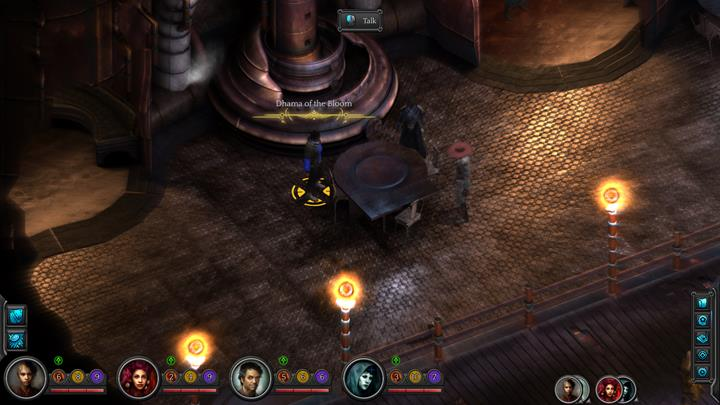 Conversation with Dhama of the Bloom - Dhama of the Bloom can be found in Fifth Eye Tavern at Cliffs Edge (M10 - Places where you can unlock permanent stat bonuses | Adventurers Guide - Adventurers Guide - Torment: Tides of Numenera Game Guide