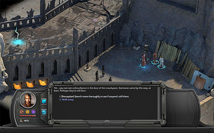 Use perception on the boards and select the option not to tell the cultists where they are - All Torment: Tides of Numenera Achievements / Trophies - Strategy Guide - Torment: Tides of Numenera Game Guide