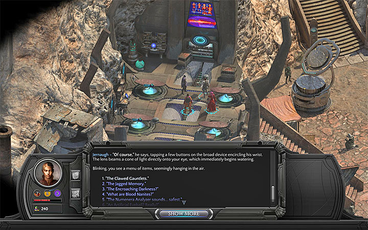 Jernaughs clinic can be found in Cliffs Edge - All Torment: Tides of Numenera Achievements / Trophies - Strategy Guide - Torment: Tides of Numenera Game Guide