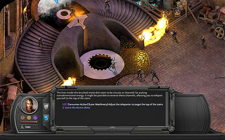 You can activate the teleports or break through one of the force fields - Into the Depths - main quest walkthrough | Bloom Heart - Bloom: Bloom Heart - Torment: Tides of Numenera Game Guide
