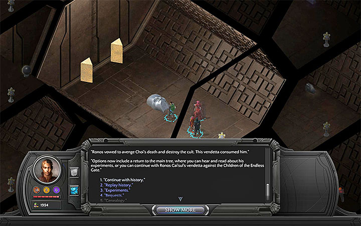 Look through the CaiSul archives - Severed Child - side quest walkthrough | Valley of Dead Heroes - Valley of Dead Heroes - Torment: Tides of Numenera Game Guide