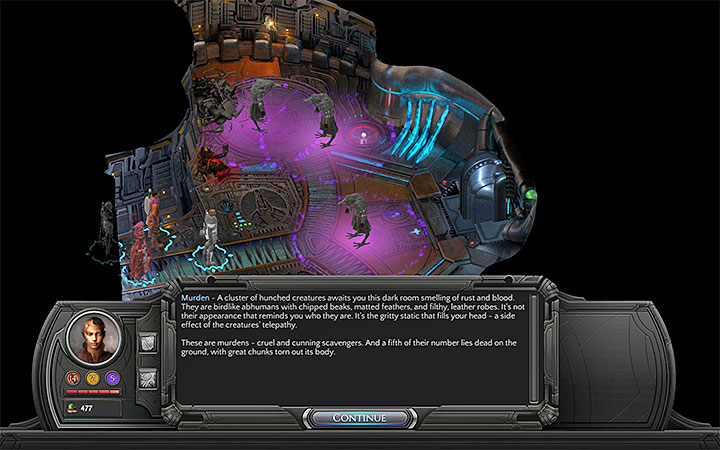 You can encounter Qorro or Murdens - The Anechoic Lazaret - side quest walkthrough | Government Square - Sagus Cliffs: Government Square - Torment: Tides of Numenera Game Guide