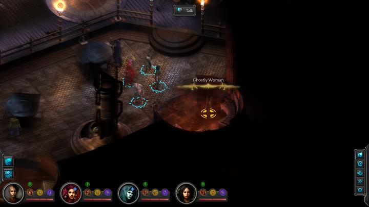 Speak with womans ghost in the tavern. - Ashen Imitation - side quest walkthrough | Cliffs Edge - Sagus Cliffs: Cliffs Edge - Torment: Tides of Numenera Game Guide