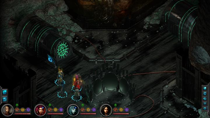 In Buried Crossroads you can find the same engine you saw in the Labyrinth - turn it off. - Ashen Imitation - side quest walkthrough | Cliffs Edge - Sagus Cliffs: Cliffs Edge - Torment: Tides of Numenera Game Guide