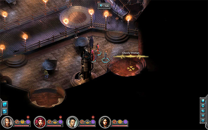 During your stay in Sagus Cliffs go to Fifth Eye Tavern (M10 - Where can you find all the copies of the Ghostly Woman (Fifth Eye Tavern)? - Puzzles and additional activities - Torment: Tides of Numenera Game Guide
