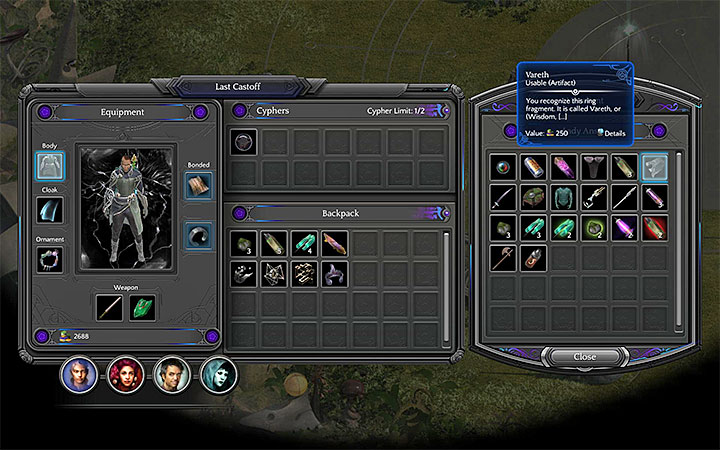 Check out Lady Anshes stock in Miel Avest - How to craft the Shadow Ring in Torment: Tides of Numenera? - Puzzles and additional activities - Torment: Tides of Numenera Game Guide