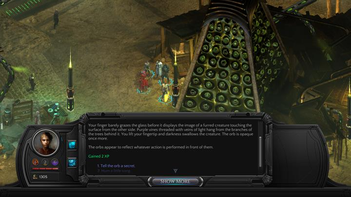 Interactions with the environment will provide you with additional experience points - How to quickly gain experience in Torment: Tides of Numenera? - Adventurers Guide - Torment: Tides of Numenera Game Guide