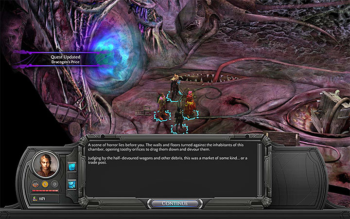 The portal will lead you to Trade Post - How to reach the Trade Post and Ascension in Bloom? - Puzzles and additional activities - Torment: Tides of Numenera Game Guide