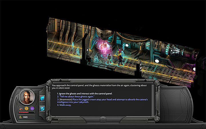 Obtain a source of energy in any way you want - A Hilt Without a Blade - side quest walkthrough | Vast Interior - Bloom: Vast Interior - Torment: Tides of Numenera Game Guide