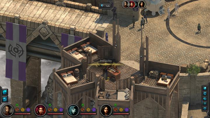 In the first location you can rest, for example, at Tranquilitys. It costs 20 shins per person. - Where can you rest and how to replenish the stat pools? | Gameplay basics - Gameplay basics - Torment: Tides of Numenera Game Guide