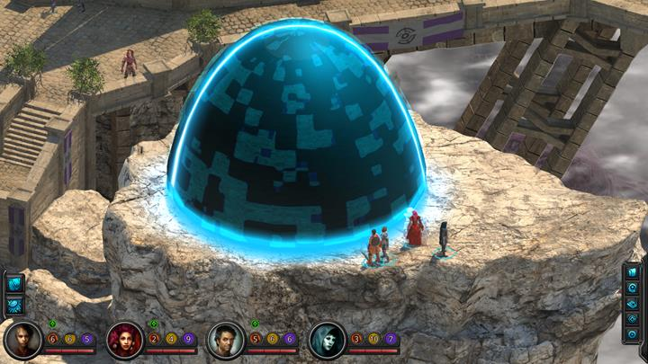 Solving the puzzle lets you teleport around the city. - How to solve the dome puzzle in Torment: Tides of Numenera? - Puzzles and additional activities - Torment: Tides of Numenera Game Guide